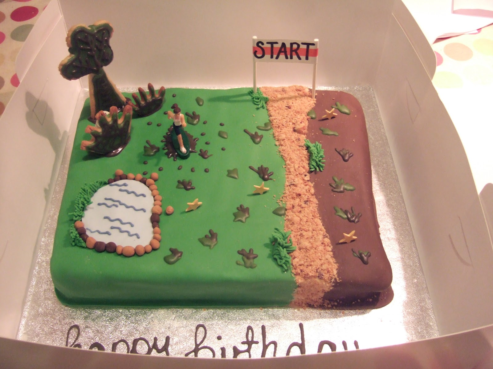 Cake Decorating Ideas Runners : Cross Country Cake Decorating Ideas 6194 Cross Country Run
