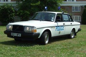 Southsea Police Car