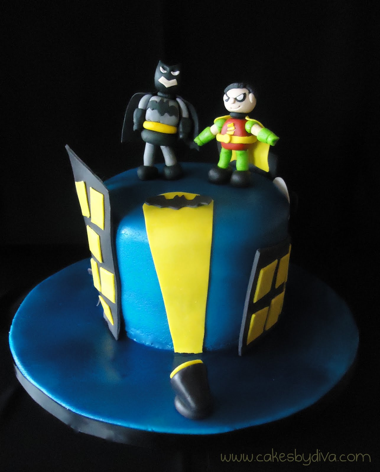 Cakes By Diva Holy Birthday Cake Batman