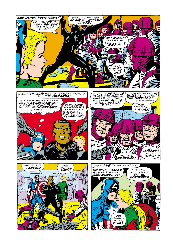 Captain America (1968) Issue #100 #14 - English 20
