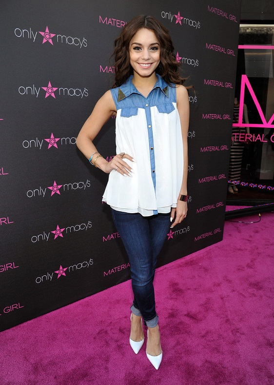 Vanessa Hudgens Material Girl S Madonna Fashion Evolution Retrospective Krazy Fashion Rocks