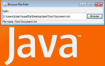 Get File Name through Path in Java