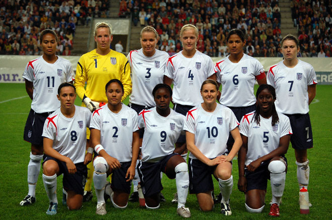 Englands greatest football team aka football princesses and stuck
