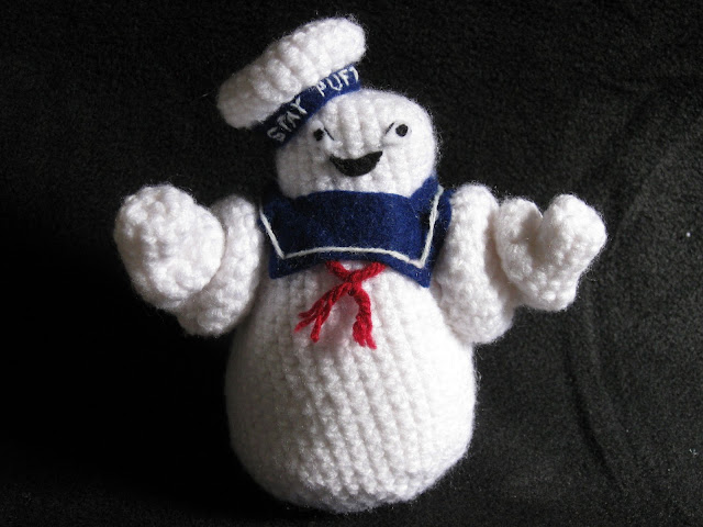 Amigurumi Ghostbusters : Mostly Nerdy Crochet: Upgrade!