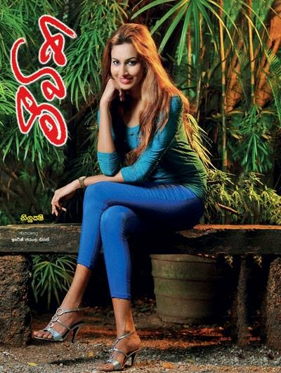 Amanda Nilukshi - Meevitha Paper cover shoot - 14th Sept. 2014