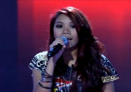 Angelica Prado of The Voice of the Philippines