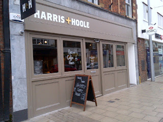 Harris and Hoole, Walton-on-Thames exterior 10 Jan 2013