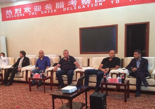 Η αποστολή του Συνδέσμου Ελλήνων Γουνοποιών στην Κίνα (φωτογραφίες)