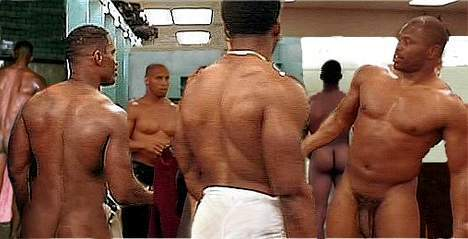 football player locker room nude