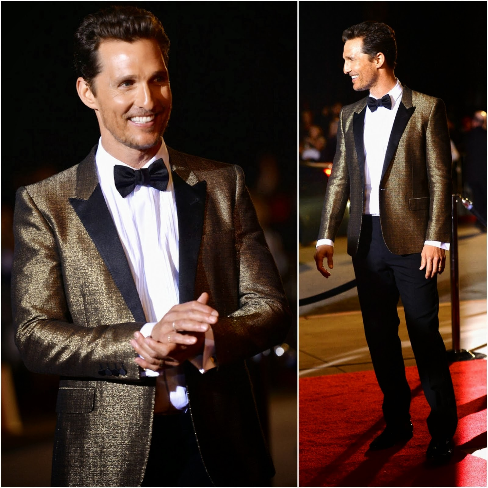 Matthew McConaughey in Saint Laurent - 25th Annual Palm Springs International Film Festival
