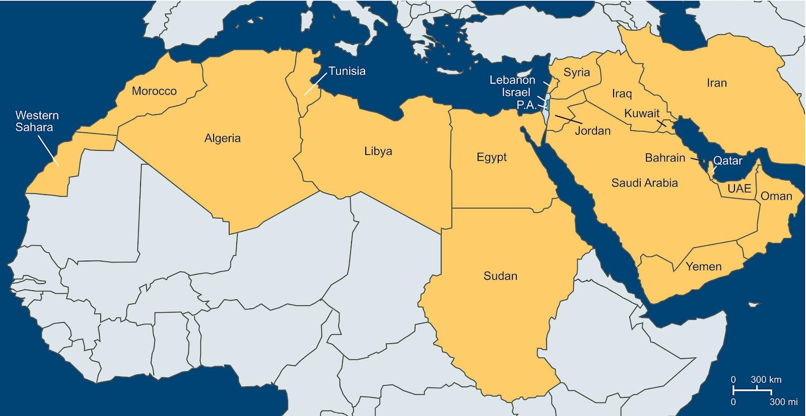 israel-carte-du-monde