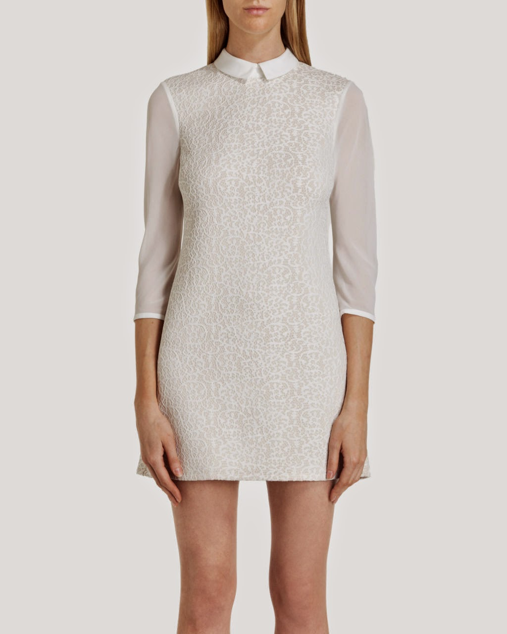 ted baker dress white collar