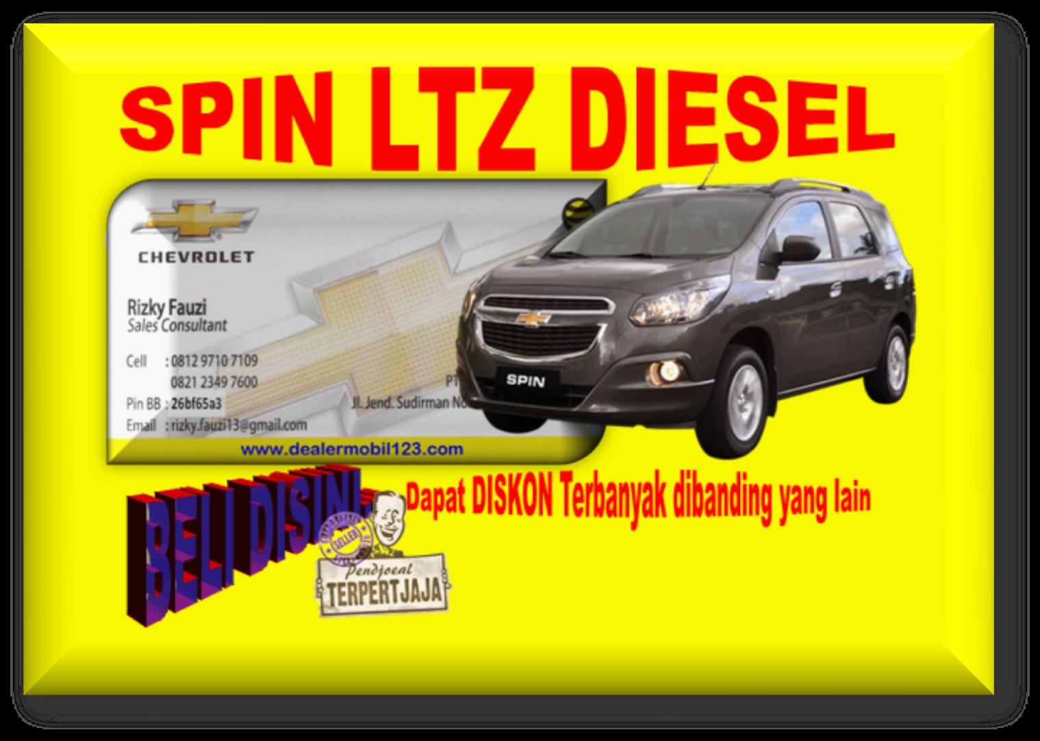 Spin LTZ Diesel Diskon Terbanyak 0812 9710 7109