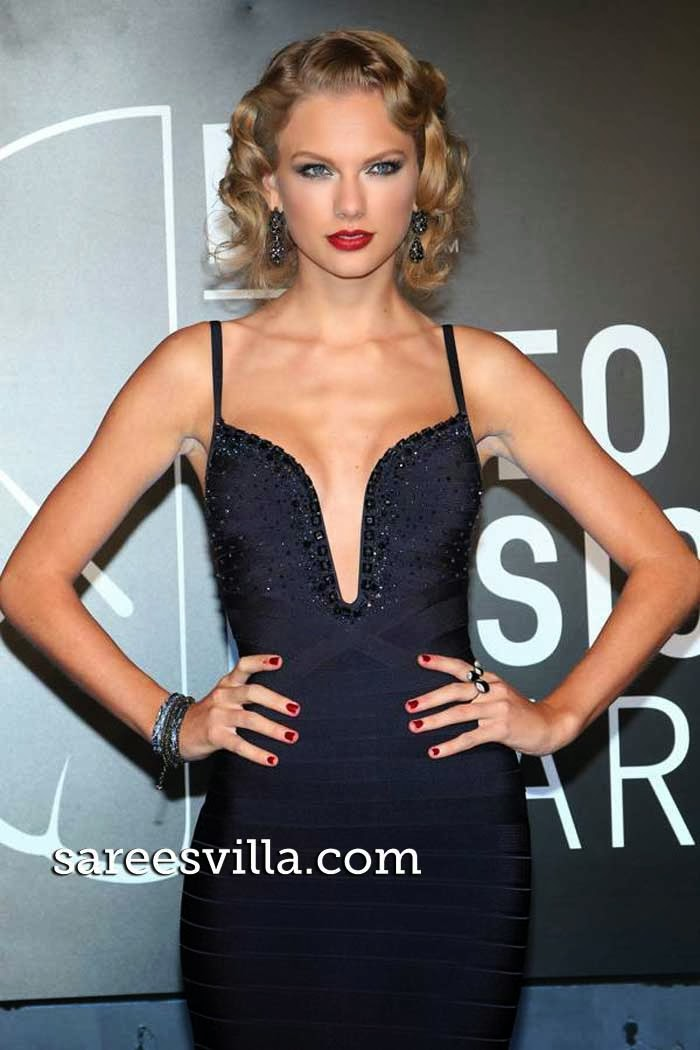 American singer-songwriter Taylor Swift