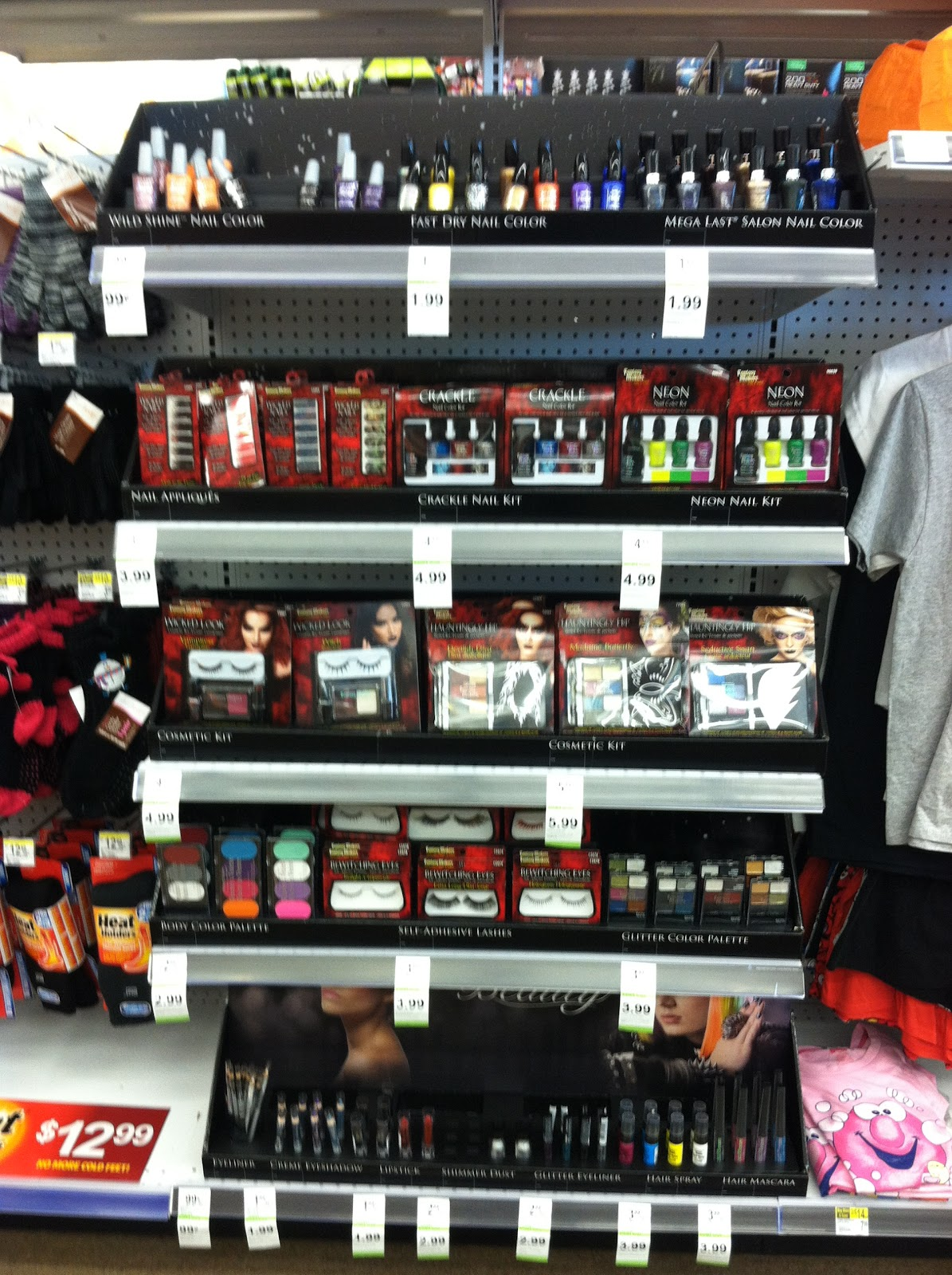 Spotted at Walgreens: A new Wet \'n Wild Halloween Display? New ...