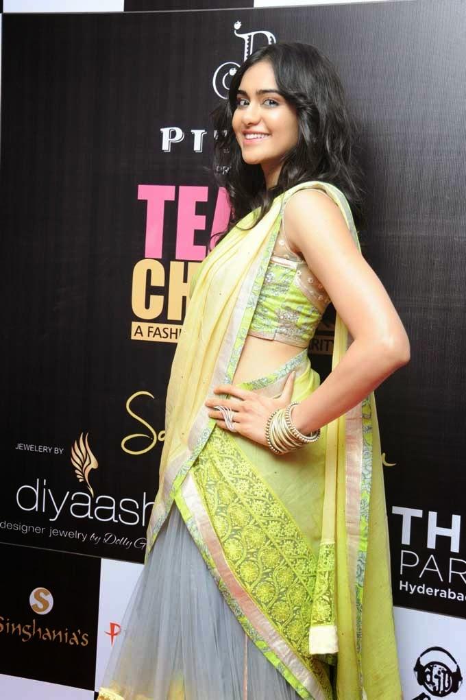 Adah Sharma at Teach For Change Fashion Show