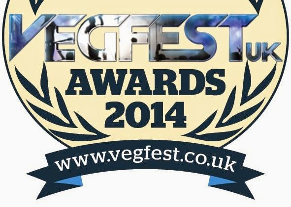 VegfestUK Awards 2014 - Vote Veganoo!