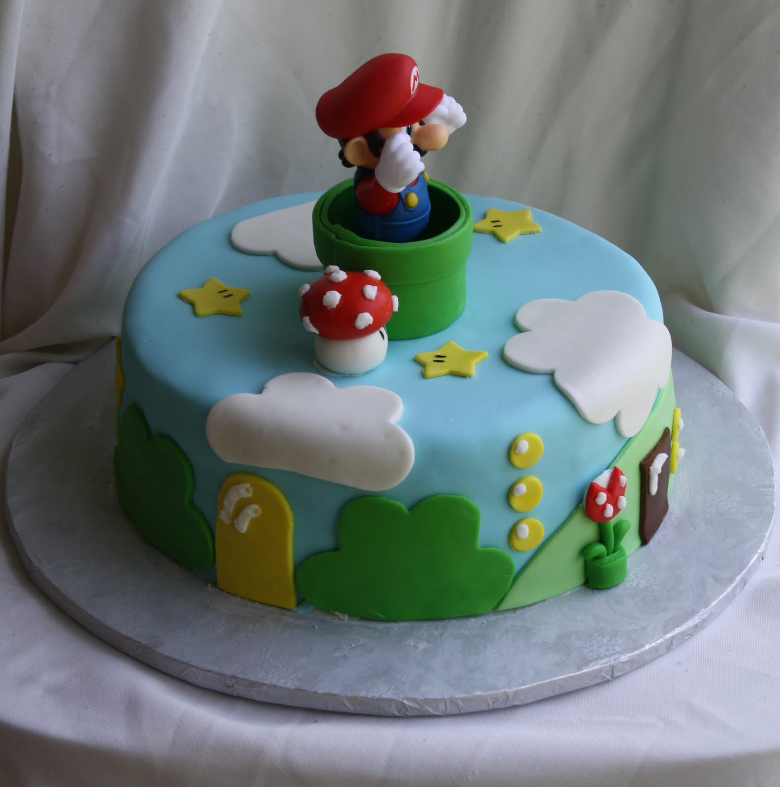 Mario Brother Cake Images : Super Mario Bros. Cake