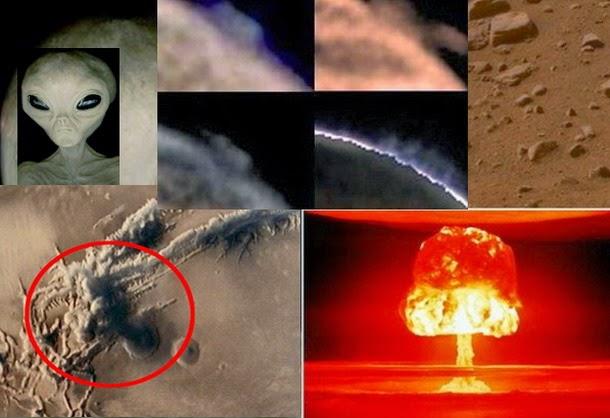 """hongo marte1 - Existe """"evidencia"""" de que una civilización pudo haber sido borrada de la superficie marciana?"""