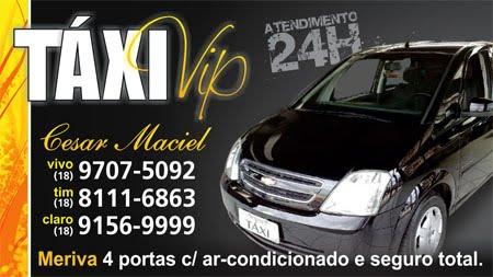 Táxi vip 24H (18)9707-5092 (18)8111-6863 (18)9156-9999