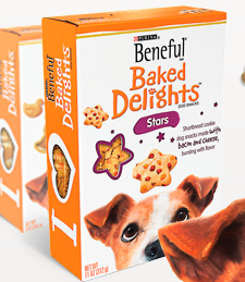 Beneful Baked Delights Stars & Hugs Combo Sample