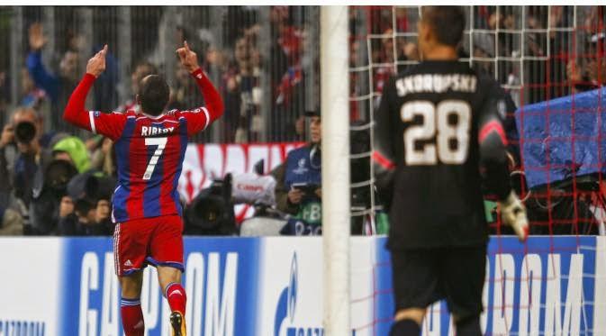 Kemenangan Bayern Muenchen atas AS Roma