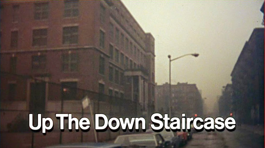 """""""up the down staircase"""" Both to sir, with love and up the down staircase were mainstream reboots of the somewhat dormant high school juvenile delinquency film (which, during the early '60s, had largely been supplanted by the motorcycle gang/beach party genre), their near-simultaneous release in the summer of 1967 coinciding with hollywood's."""