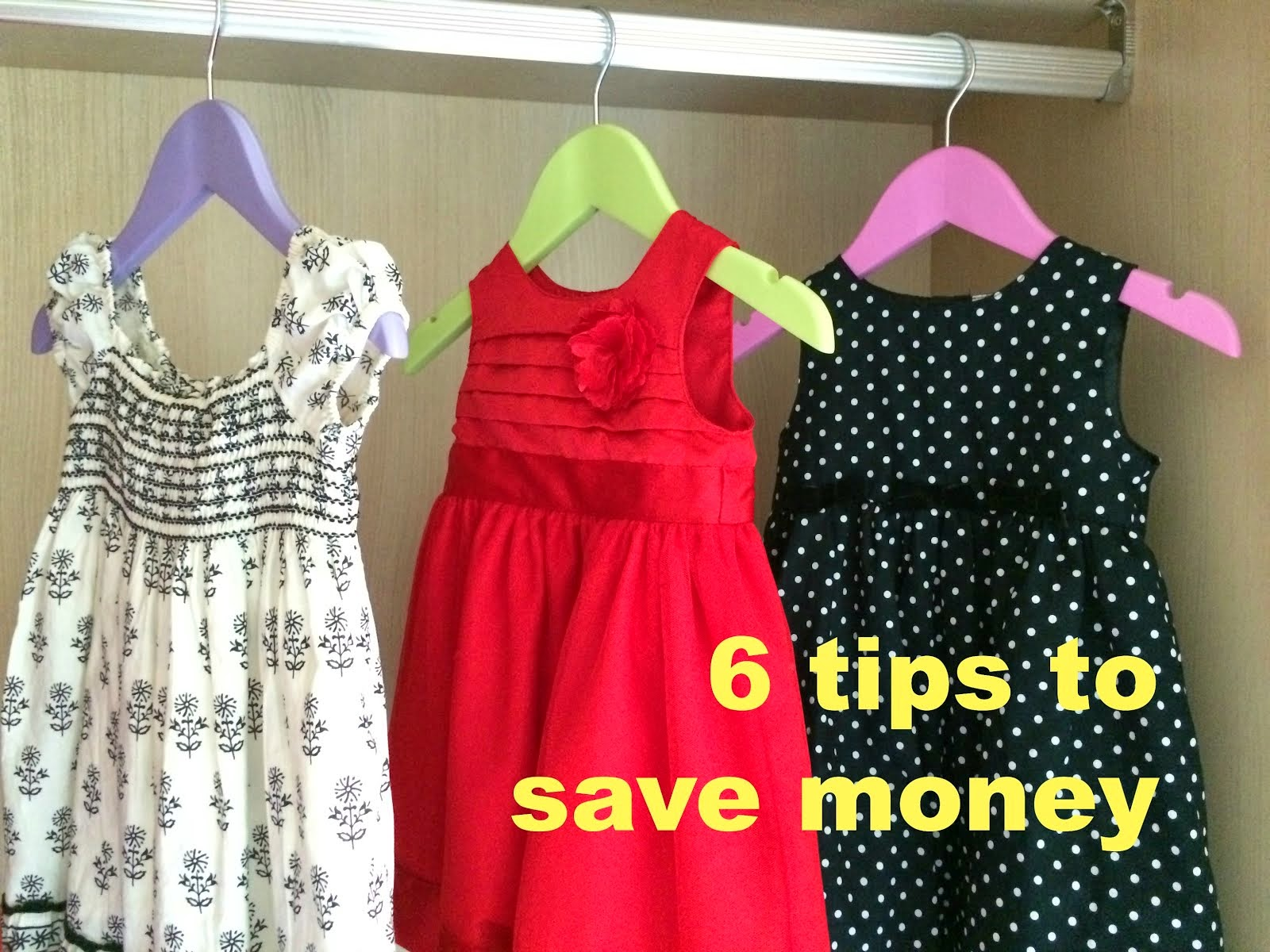 HOW TO SAVE ON TOYS, CLOTHES, FOOD, TUTION & VACATIONS