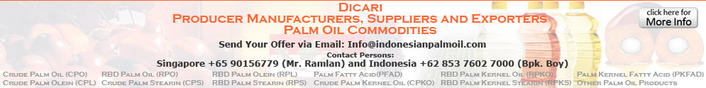 producer kelapa sawit palm oil commodities