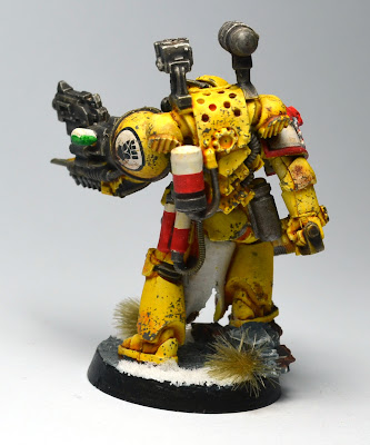 Pre-Heresy Imperial Fists Apothecary