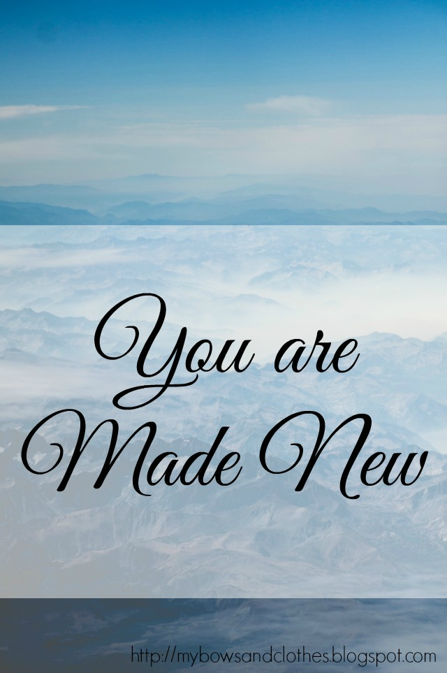 you are made new clean forgiveness encouragement songs Christianity