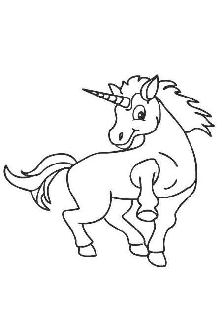Unicorno disegni da colorare disegni da colorare - Unicorno alato pagine da colorare ...