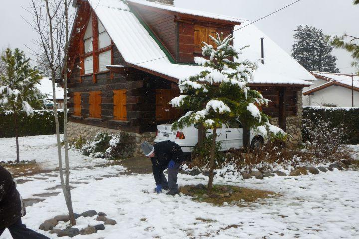 Caba as tronco piedra la falda c rdoba troncopiedra en invierno - Cabana invierno ...