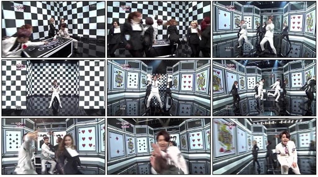 [Music Bank 28.02.2014] DBSK - Spellbound TVXQS140228