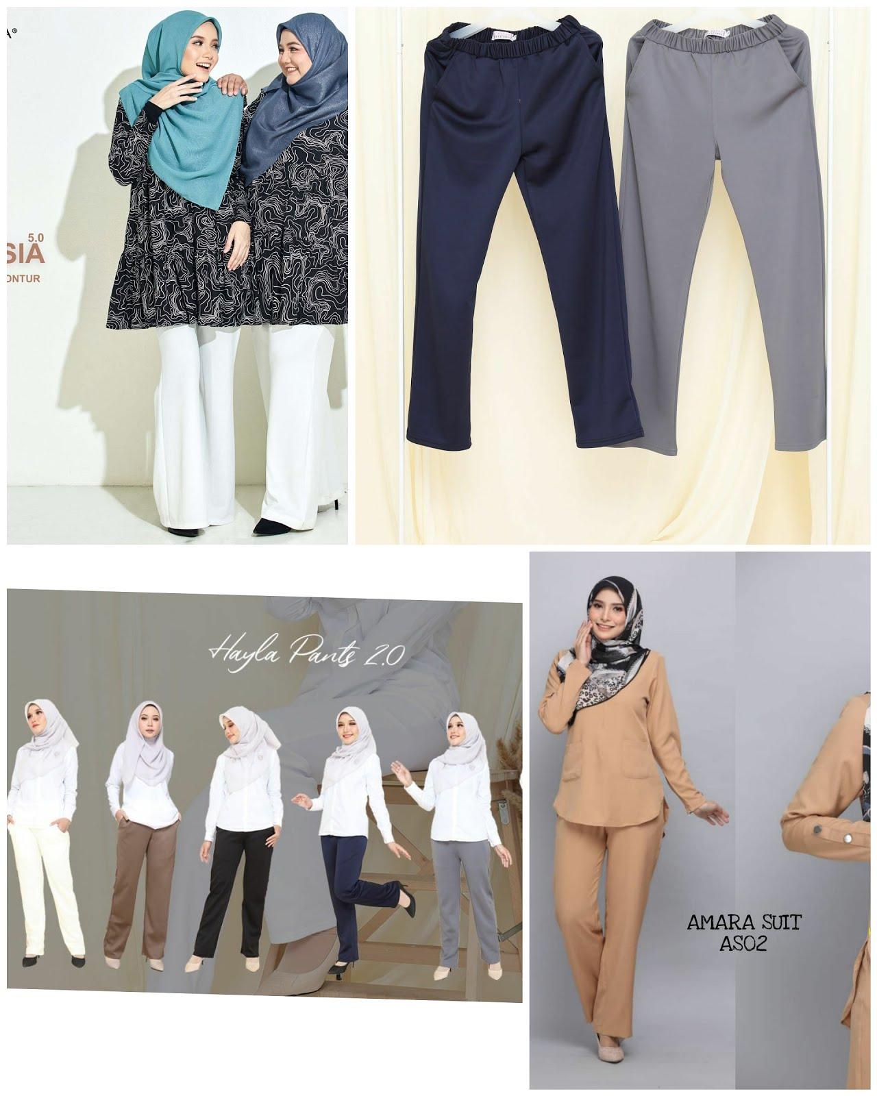 Pelbagai koleksi casual sesuai di gayakan di mana saja.confirm selesa!!