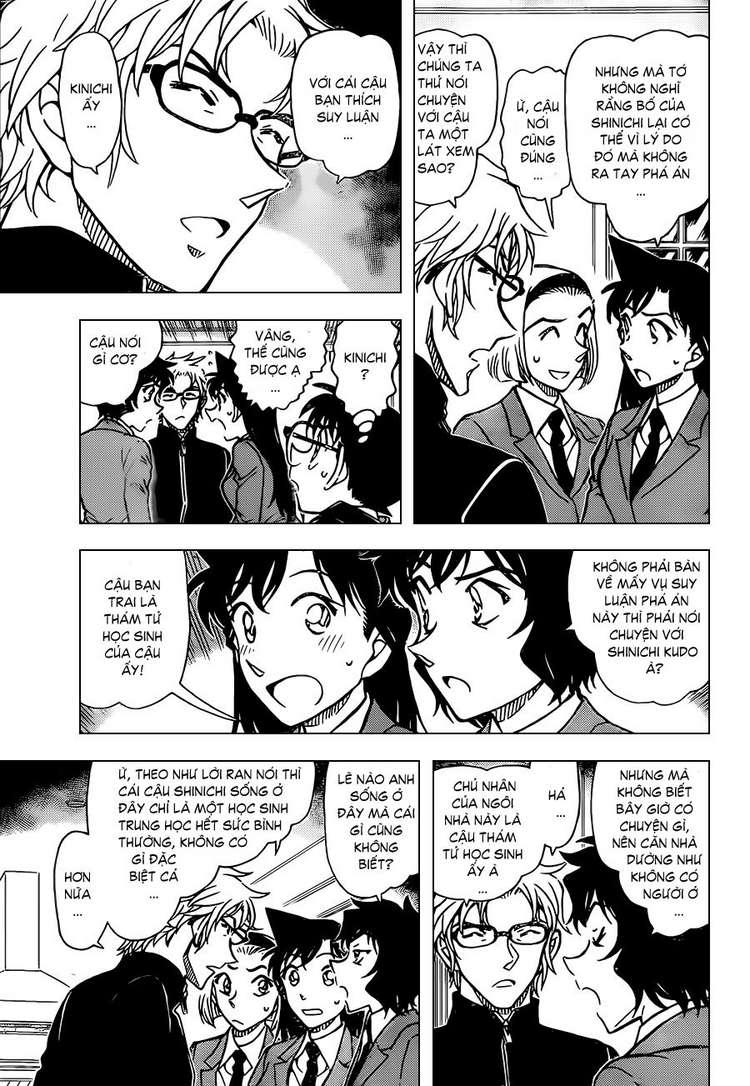 Detective Conan - Thám Tử Lừng Danh Conan chap 813 page 13 - IZTruyenTranh.com