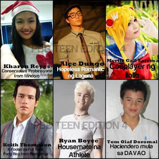 PBB Teen 4 Housemates
