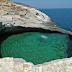 Γκιόλα: Μία φυσική πισίνα με πράσινο νερό στη Θάσο [Εικόνες]
