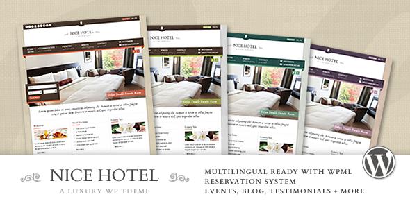 Descargar] Plantilla Wordpress Nice Hotel – Hoteles / Responsive ...