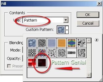 Cara membuat Pattern Fiber