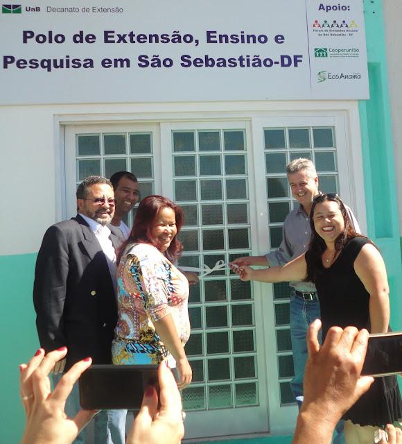 UnB inaugura Polo de Extensão em São Sebastião