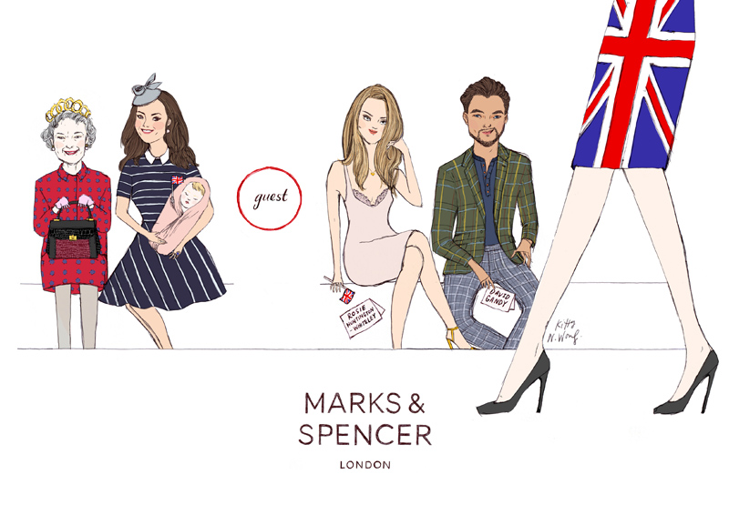Kitty N. Wong / Marks and Spencer Illustration