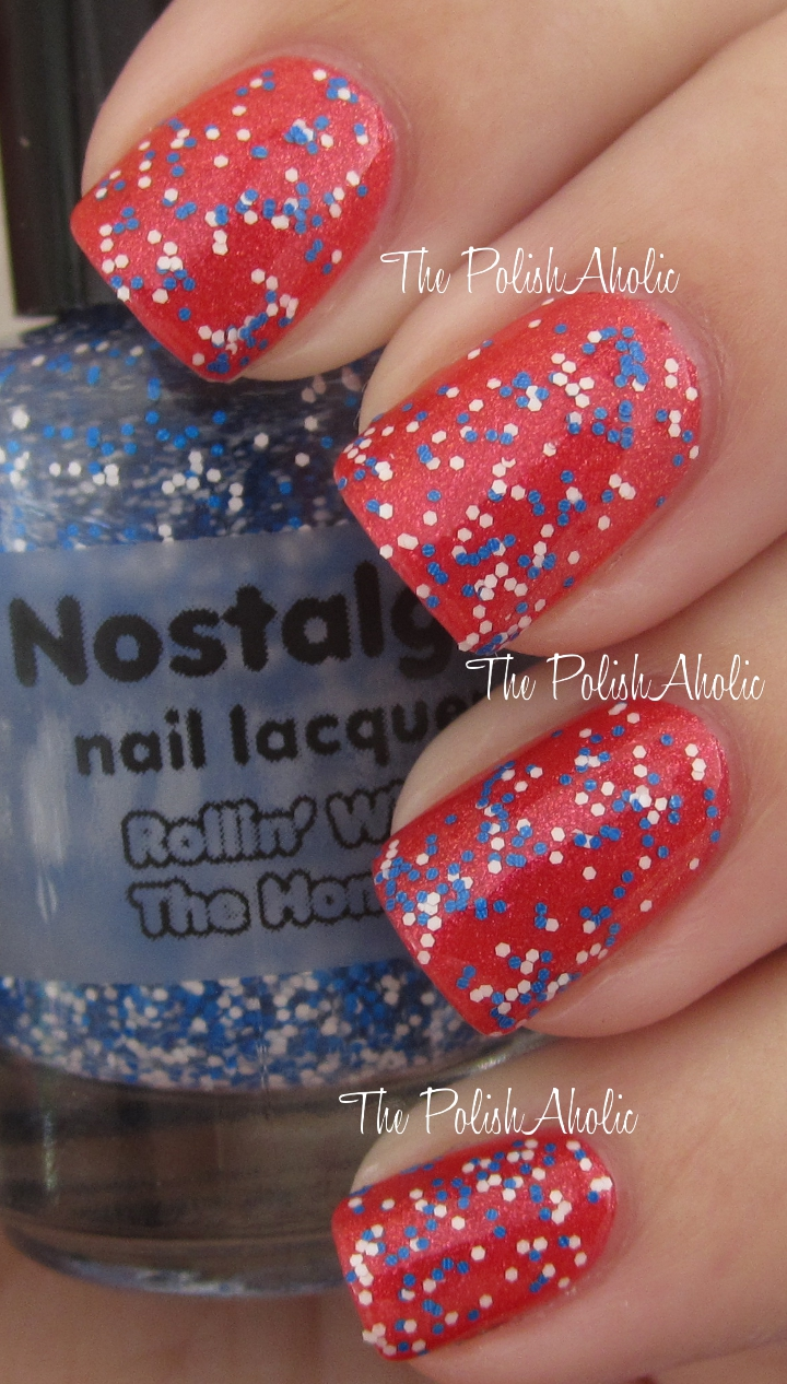 The PolishAholic: Nostalgic Nail Lacquer Clueless Collection Swatches!