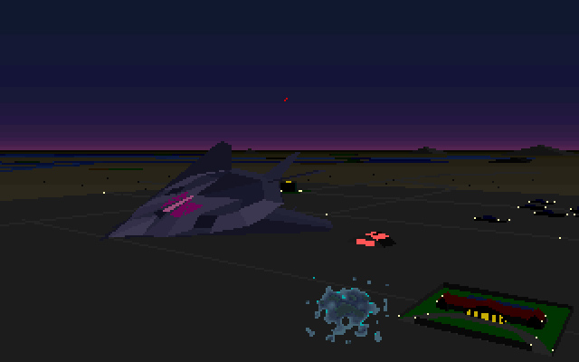 F 117 Stealth Fighter Game The DOS Gaming Scholar...