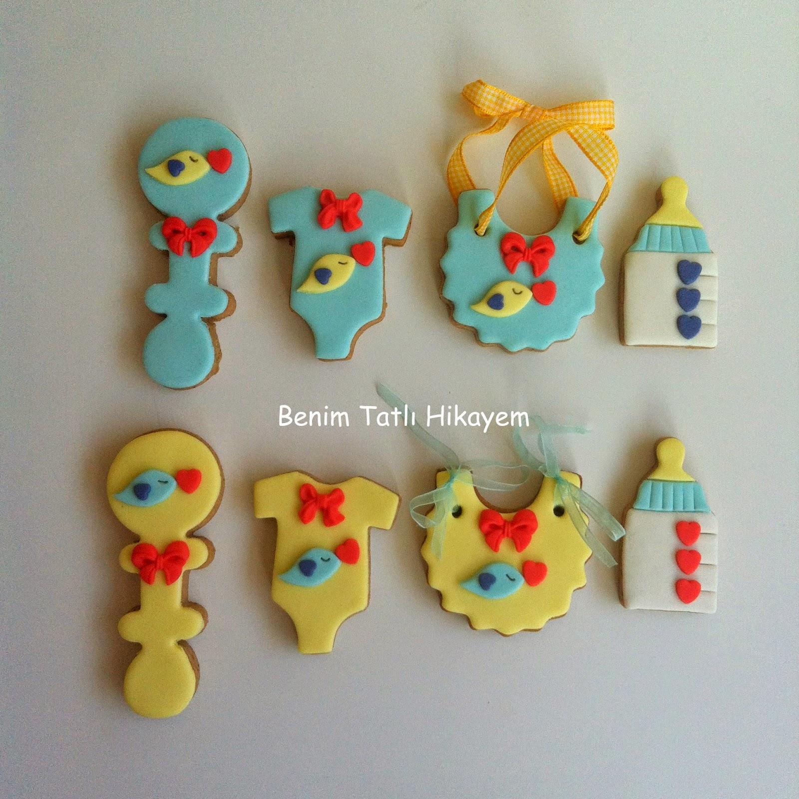 erkek bebek kurabiyesi