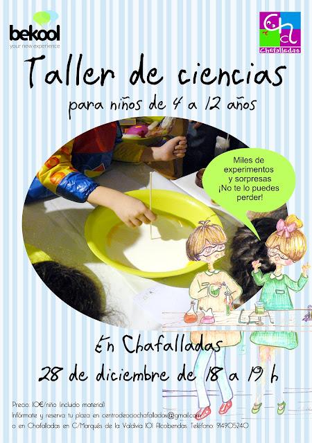 taller infantil de ciencias