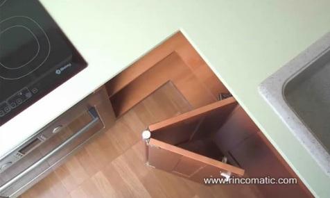 I.d.e.a: el espacio en la cocina   soluciones para armarios en esquina