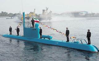 Iran pamer kapal selam
