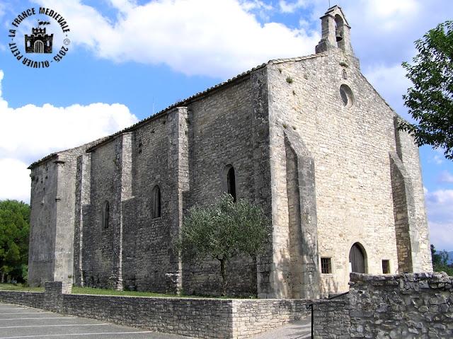 VAISON-LA-ROMAINE (84) - Eglise Saint-Quenin