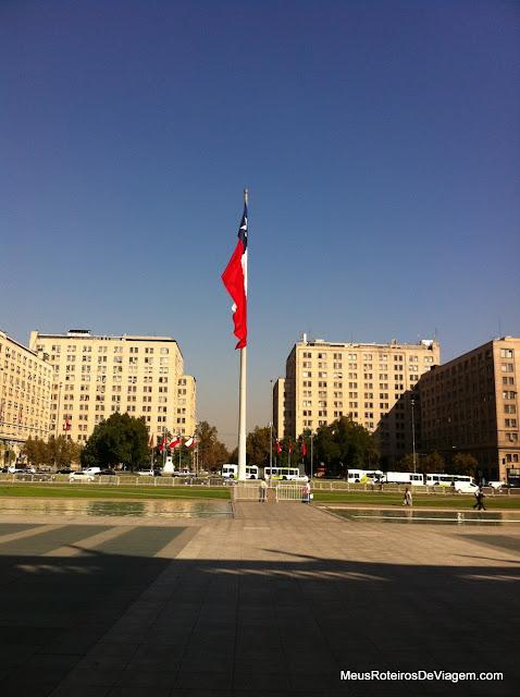 Praça da Cidadania - Av. Libertador Bernardo O'Higgins